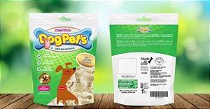 Petisco Osso Mini Dog Pet's de Couro Bovino 100% Natural