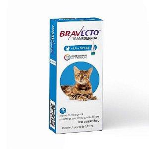 Antipulgas MSD Bravecto Transdermal para Gatos de 2,8 a 6,25Kg