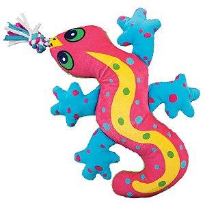 Pelucia Kong Gecko Aloha para Cães