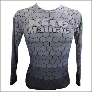 RASH GUARD KITE MANIAC COD. CINZA