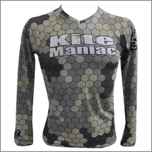 RASH GUARD KITE MANIAC COD. CAMUFLADA