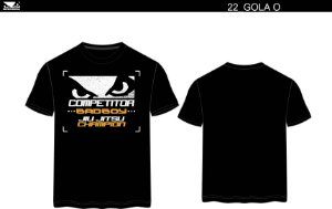 Camiseta Competidor Bad Boy-Preta