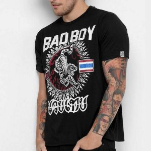 Camiseta Bad Boy Muay Thai Preta - CBBI03