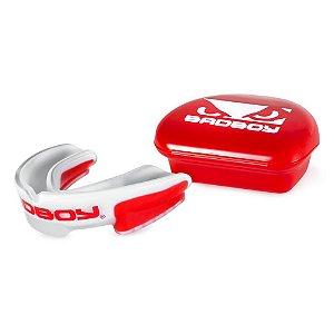 Protetor de Boca Bad Boy- Branco e Vermelho -BB.00132