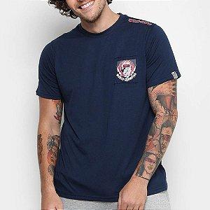 Camiseta Bad Boy Fight -Azul CBBI071
