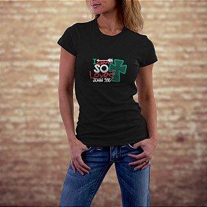 Camiseta com estampa gospel ref.0105