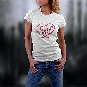 Camiseta com estampa gospel ref.0128