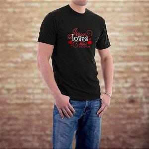 Camiseta com estampa gospel ref.0147