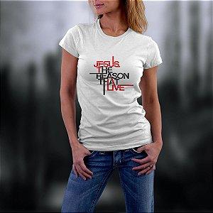 Camiseta com estampa gospel ref.0159
