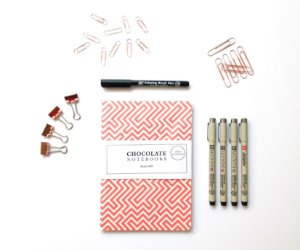 Super Kit BuJo 2018 Chocolate Notebooks