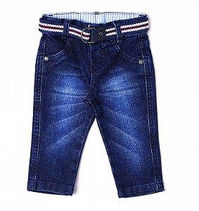 Calça Jeans Bordo Clube Do Doce