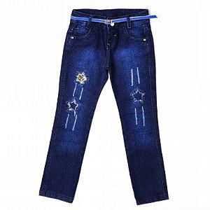 Calça Jeans Estrelas