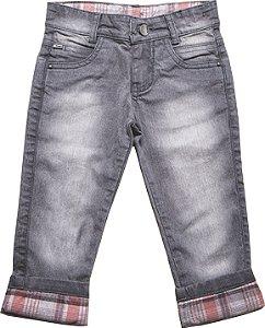 Calça Masculina Jeans Camberra Xadrez