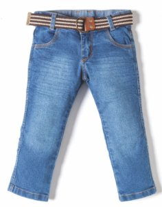 Calça Masculina Jeans Ocre Robo