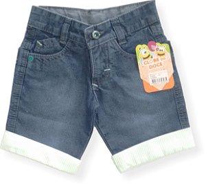 Bermuda Masculina Jeans Manilla Green