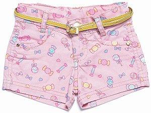 Shorts Feminino Gold Flex Docinho