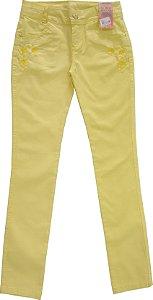 Calça Feminina Gold Flex Color Amarelo