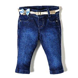 Calça Feminina Jeans Lurex Stars
