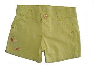 Shorts Sarja Color Princess Carambola