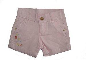 Shorts Sarja Color Princess Peônia