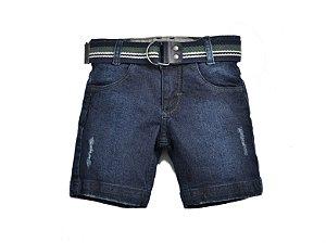 Bermuda Jeans Camuflado