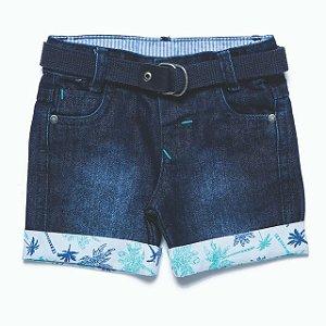 Bermuda masculina Jeans bebê p ao g Frade clube do doce