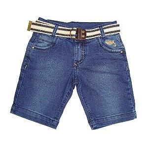 Bermuda Jeans Peixe