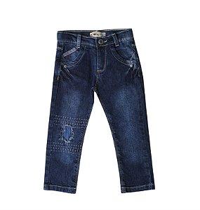 Calça Regular Jeans Premium