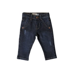 Calça Slim Jeans Choc