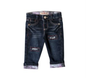 Calça Regular Jeans Peonia
