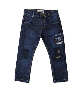 Calça Slim Jeans Combi