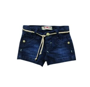 Shorts Regular Jeans Franzido