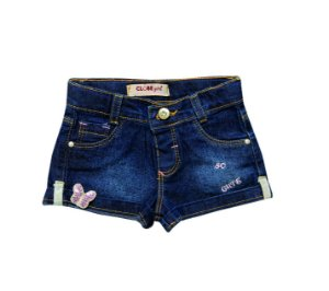 Shorts Regular Jeans Butterfly