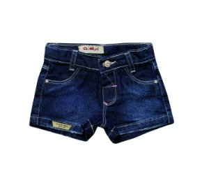 Shorts Regular Jeans Flor