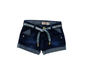 Shorts Slim Jeans Blue