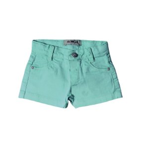 Shorts Regular Sarja Story Color Turquesa