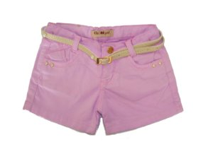 Shorts Regular Color Perolas Lavander