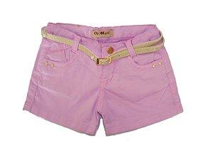 Shorts Regular Color Perolas Lavander