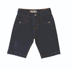 Bermuda Slim Jeans Clube Amsterdã
