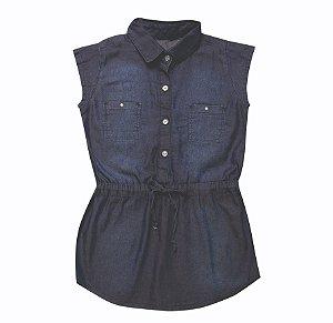 Vestido Jeans Clube Girl