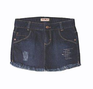Saia Jeans Luluzinha