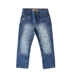 Calça Fem Slim Jeans Flores