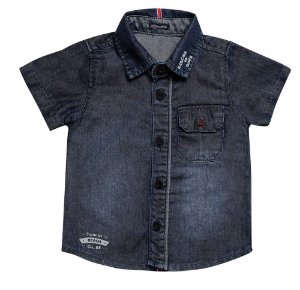 CAMISA JEANS #CLUBE P/G