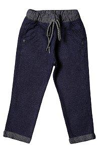 Calça masculina sarja  jogger infantil colors 1ao 3 clube do doce