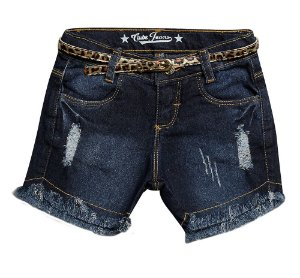 SHORTS JEANS CINTO ONCINHA 1/3