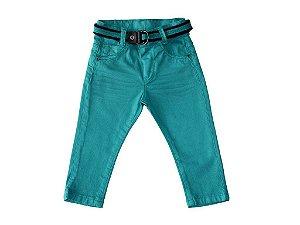 Calça masculina sarja bebê skinny colors p ao g clube do doce