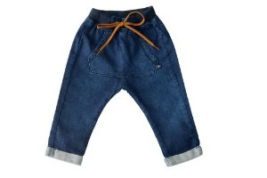 Calça masculina jeans bebê canguru p ao g clube do doce