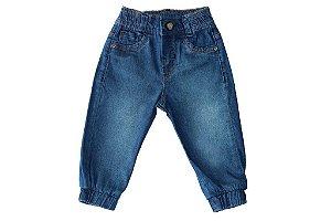Calça masculina bebê jeans jogger lyra p ao g clube do doce