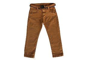 Calça masculina sarja infantil colors 1 ao 3 clube do doce
