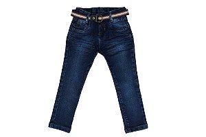 Calça masculina jeans skinny infantil 1 ao 3 clube do doce